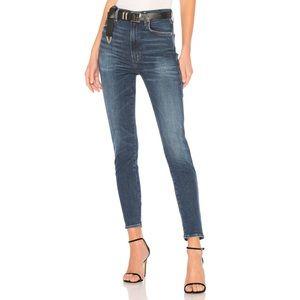 AGOLDE Roxanne Super High Rise Skinny Jeans 27